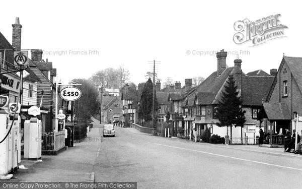Photo of Lamberhurst, The Village c.1955