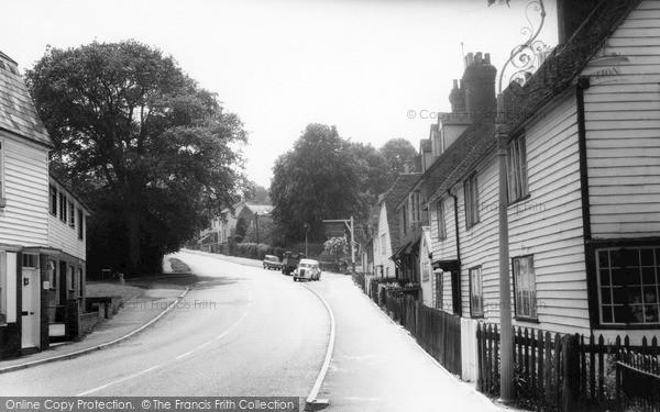 Photo of Lamberhurst, The Village c.1960