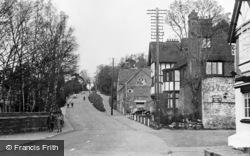 Lamberhurst, View From The Bridge c.1955