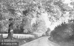 Lambourn, Big Lane c.1955