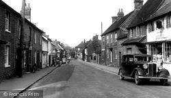 Lambourn, High Street c.1955