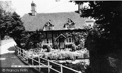 Lambourn, Riverside Cottage c.1955