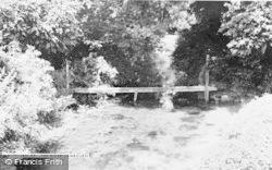 Lambourn, The River c.1955