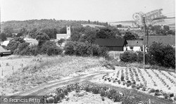Lambourn, View From Greenways c.1960