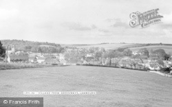 Lambourn, Village From Greenways c.1965