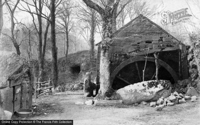 Penzance,the Old Mill Lamorna 1903,Cornwall