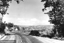 Lampeter, From The Pumpsaint Road c.1955