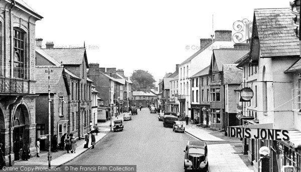 Photo Of Lampeter High Street 1952 Francis Frith
