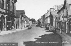 Lampeter, High Street c.1960