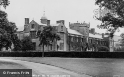 Lampeter, Old Buildings, St David's College c.1955