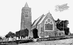 Lampeter, St Peter's Church c.1955