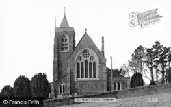 Lampeter, St Peter's Church c.1960