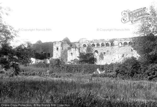 Photo of Lamphey, Palace Ruins 1890