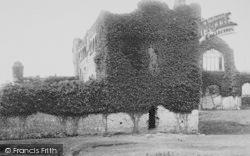 Lamphey, Palace Ruins 1890