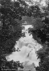 Lanark, Corra Linn, River Clyde 1897