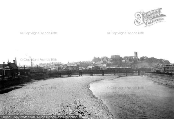 Lancaster, from Skerton Bridge 1891