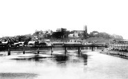 Lancaster, From The Bridge 1891