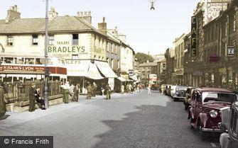 Lancaster, Market Street c1950