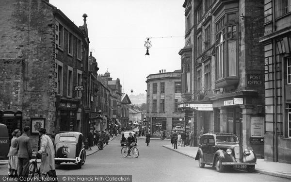 Lancaster, Market Street c1955