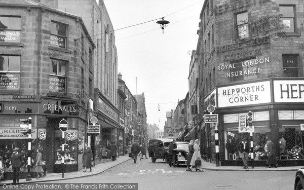 Lancaster, Penny Street 1954