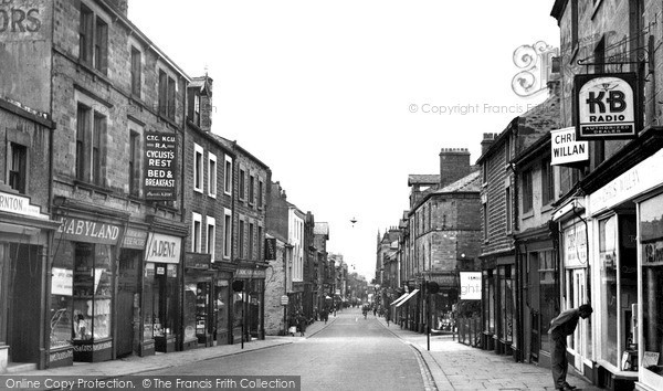 Lancaster, Penny Street c1950