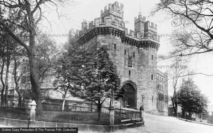 Photo of Lancaster, The Castle Gateway 1896
