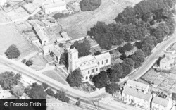 Lanchester, Aerial View c.1955