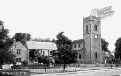 Lanchester, All Saints Parish Church c.1960