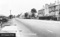 Lanchester, Entrance To Village From Durham c.1960