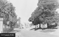 Lanchester, Front Street c.1955