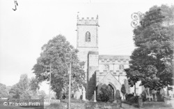 Lanchester, The Church c.1955