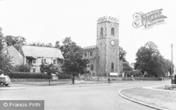 Lanchester, The Church c.1960