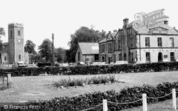 Lanchester, The Green And King's Head c.1960