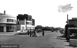 Lancing, Brighton Road c.1955