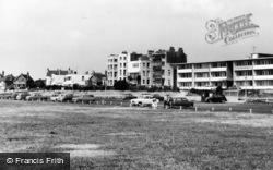 Lancing, Car Park, Brighton Road c.1960