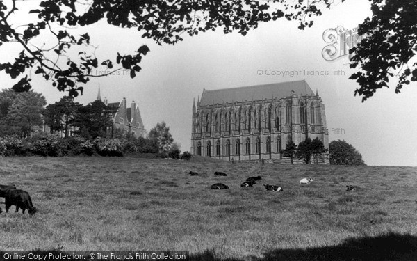 Photo of Lancing College, c.1960