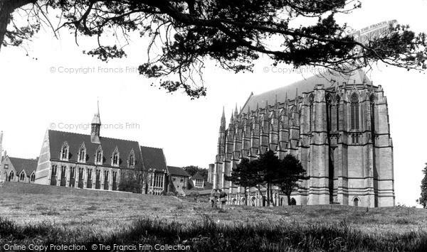 Photo of Lancing College, c.1960