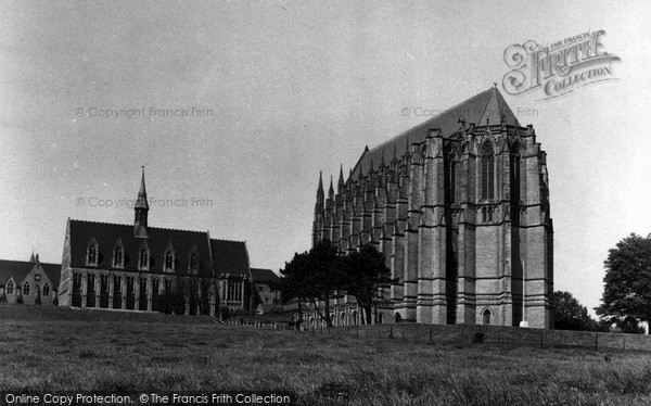 Photo of Lancing College, c.1965