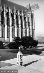 Lancing College, The Chapel c.1960