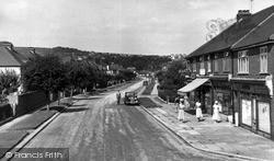 Lancing, Grand Avenue c.1955