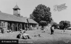 Lancing, Manor Recreation Ground c.1955