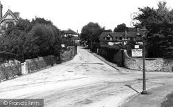 Lancing, Mill Road c.1955