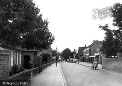 Lancing, North Street c.1955