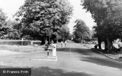 Lancing, Old Shoreham Road c.1960
