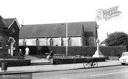 Lancing, The Church And War Memorial c.1960