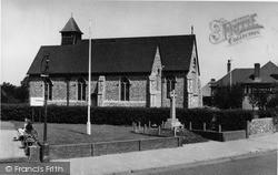 Lancing, The Parish Church c.1955