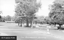 Lancing, The Roundabout c.1960