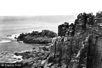 Land's End, c1864
