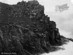 Land's End, Pordenack Point, Sphinx Rock c.1864