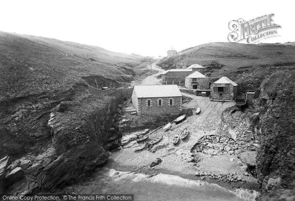 Photo of Landewednack, Church Cove 1895